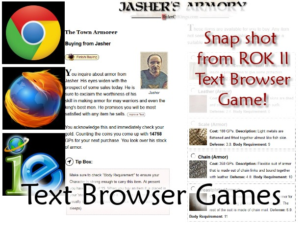 Browser Text Games